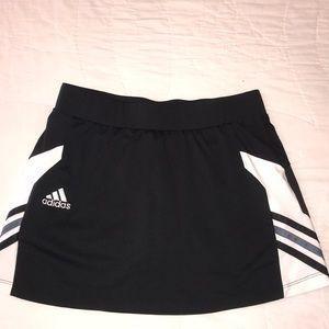 Black Adidas tennis skirt